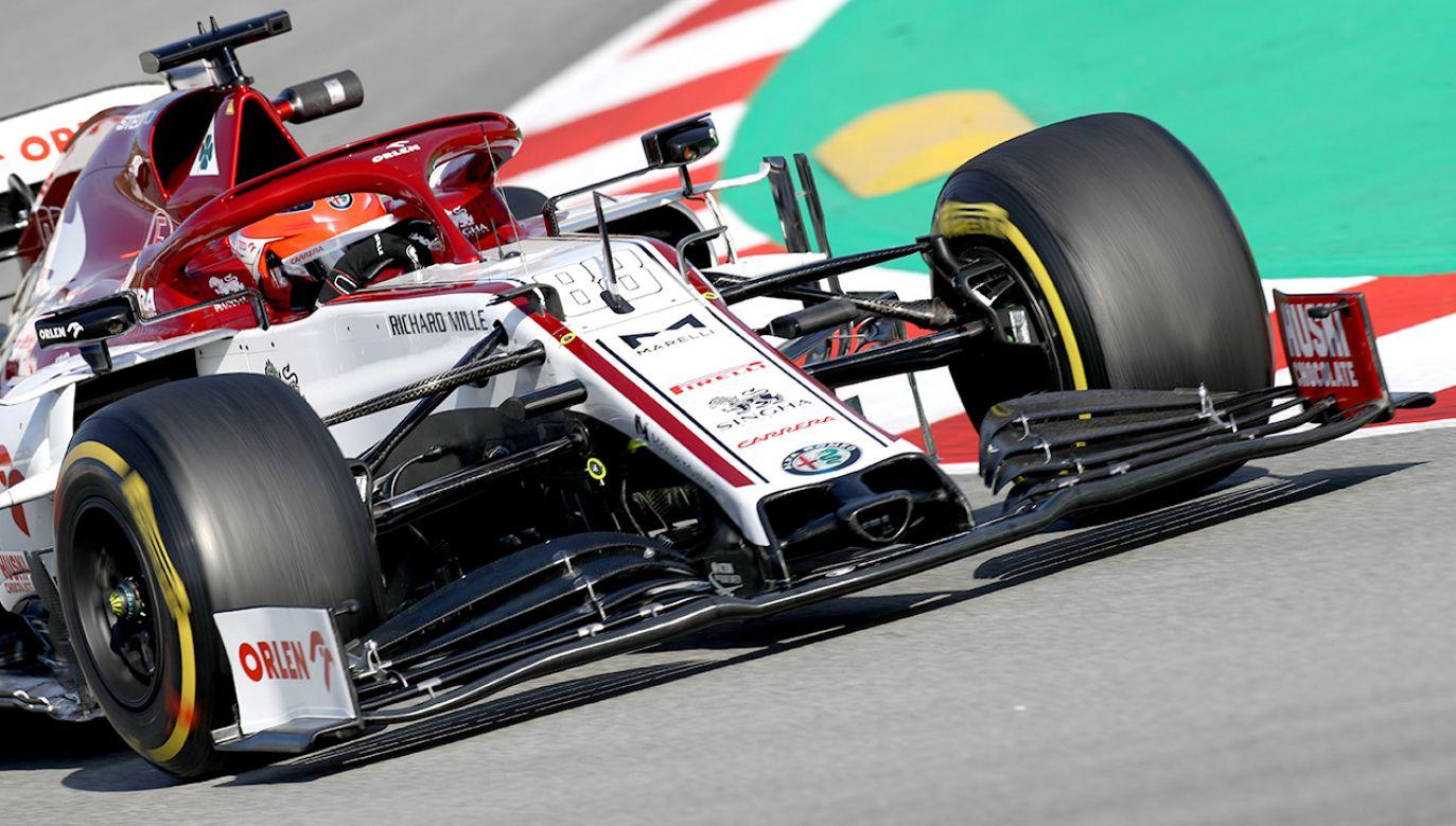 Robert Kubica przejechał dziś 53 okrążenia (fot. Mark Thompson/Getty Images)