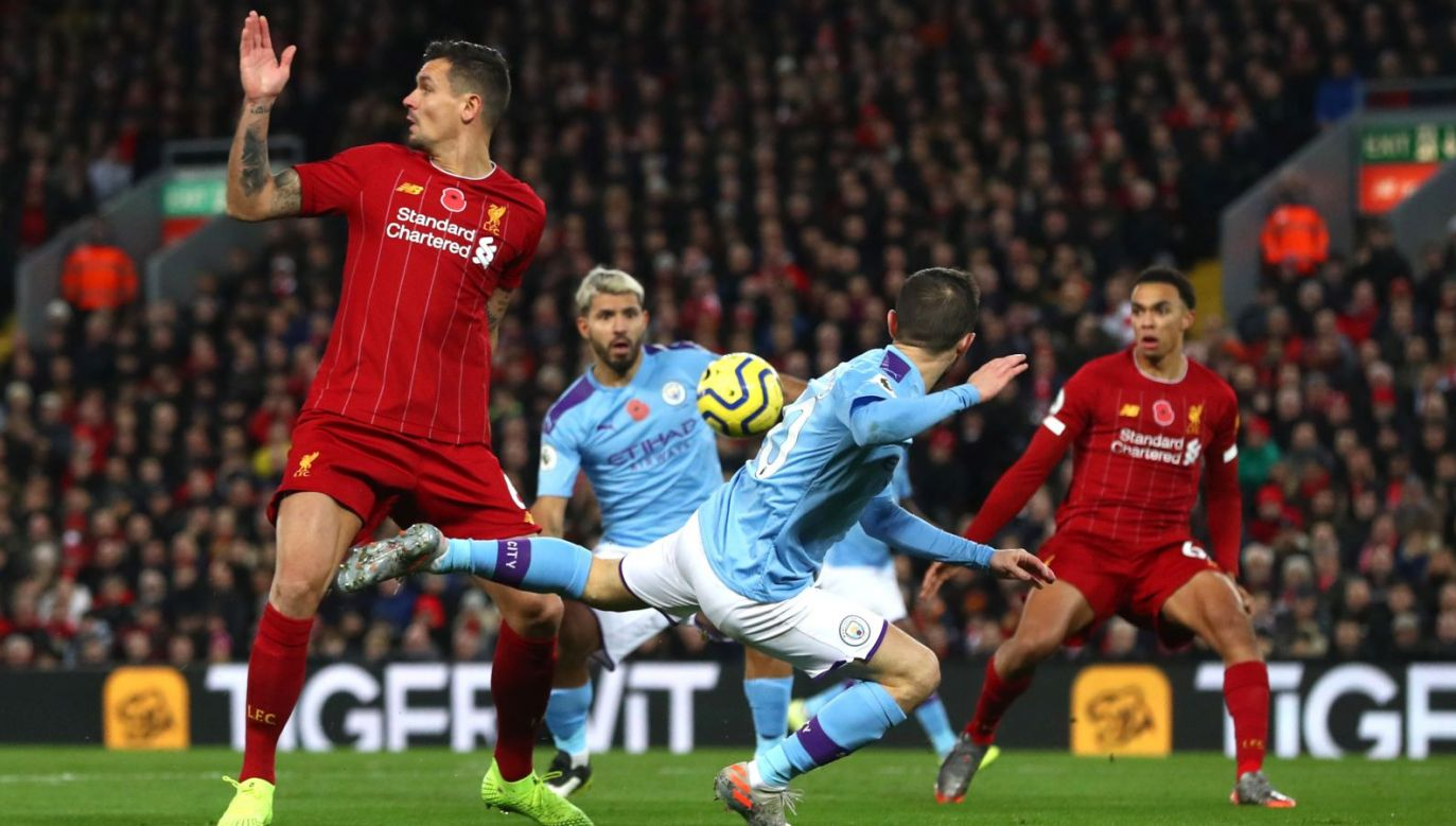 Mecz Liverpool – Manchester City (fot. Getty)