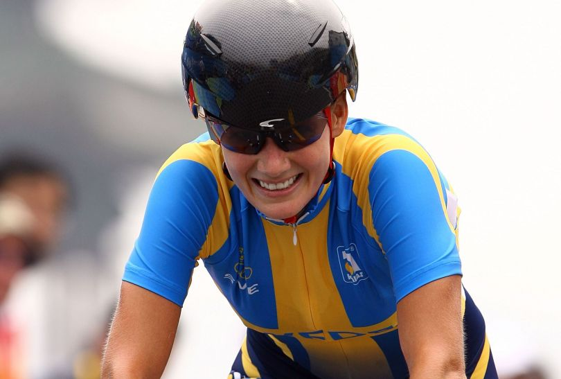 Srebrna medalistka ze startu wspólnego – Szwedka Emma Johansson (fot. Getty Images)