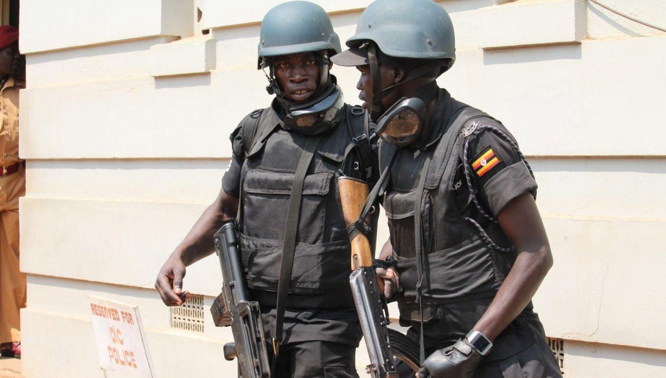 Żołnierze ugandyjskich jednostek specjalnych w stolicy kraju Kampali (fot. Halima Athumani/Anadolu Agency/Getty Images)