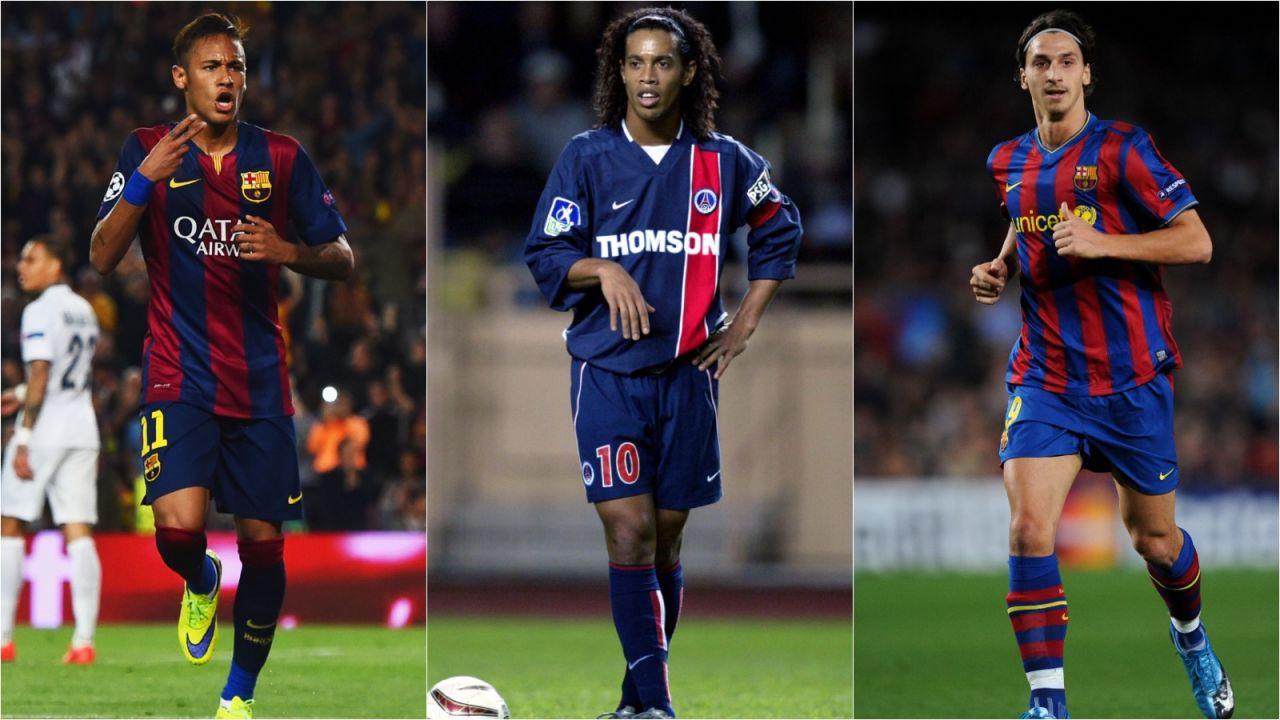 Liga Mistrzów, FC Barcelona – PSG: najlepsi zawodnicy, którzy grali w obu klubach (sport.tvp.pl)