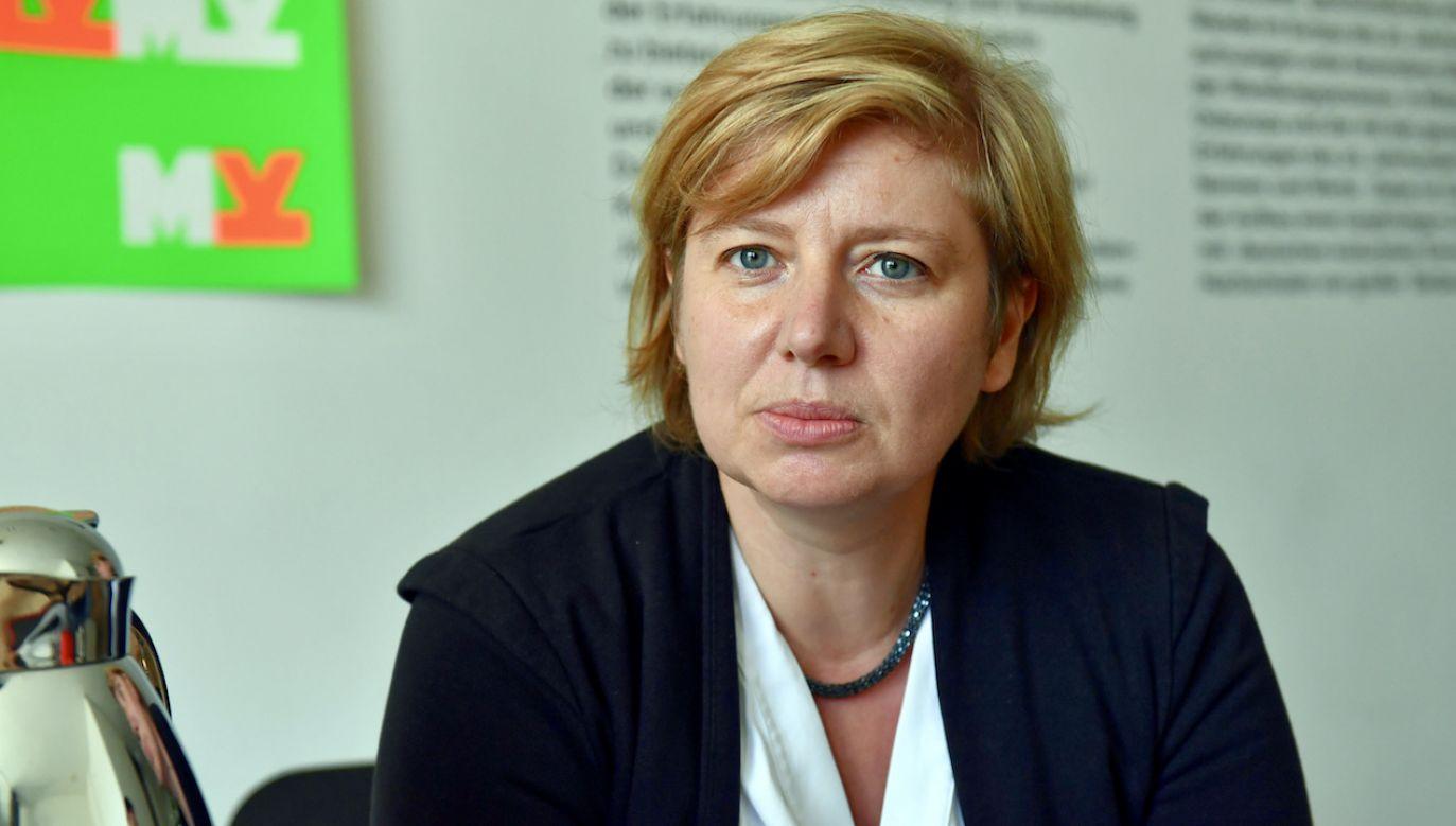 Hanna Radziejowska (fot. arch.PAP/Marcin Bielecki)