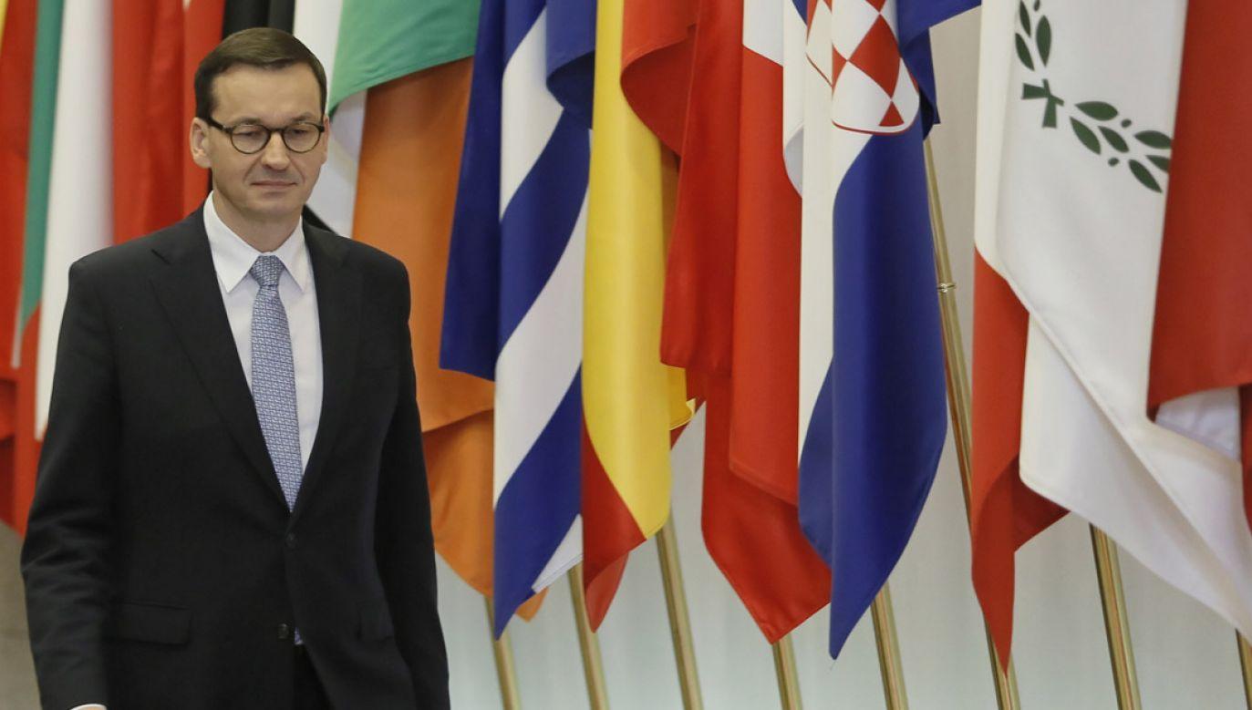Szef rządu bierze udział w unijnym szczycie w Brukseli (fot. PAP/Leszek Szymański)