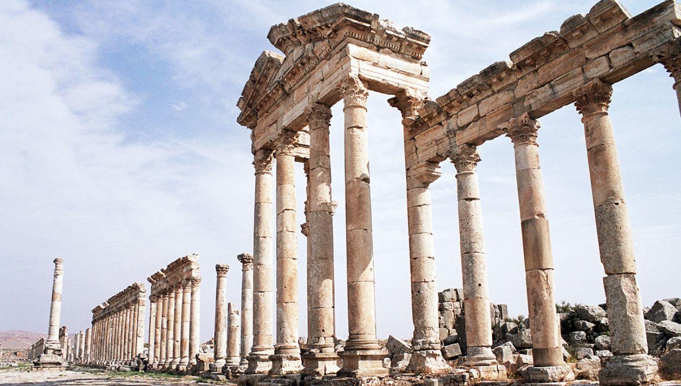 Chodzi o jedno z największych miast hellenistycznych – Apameę (fot. Dominic Dudley/Pacific Press/LightRocket via Getty Images)