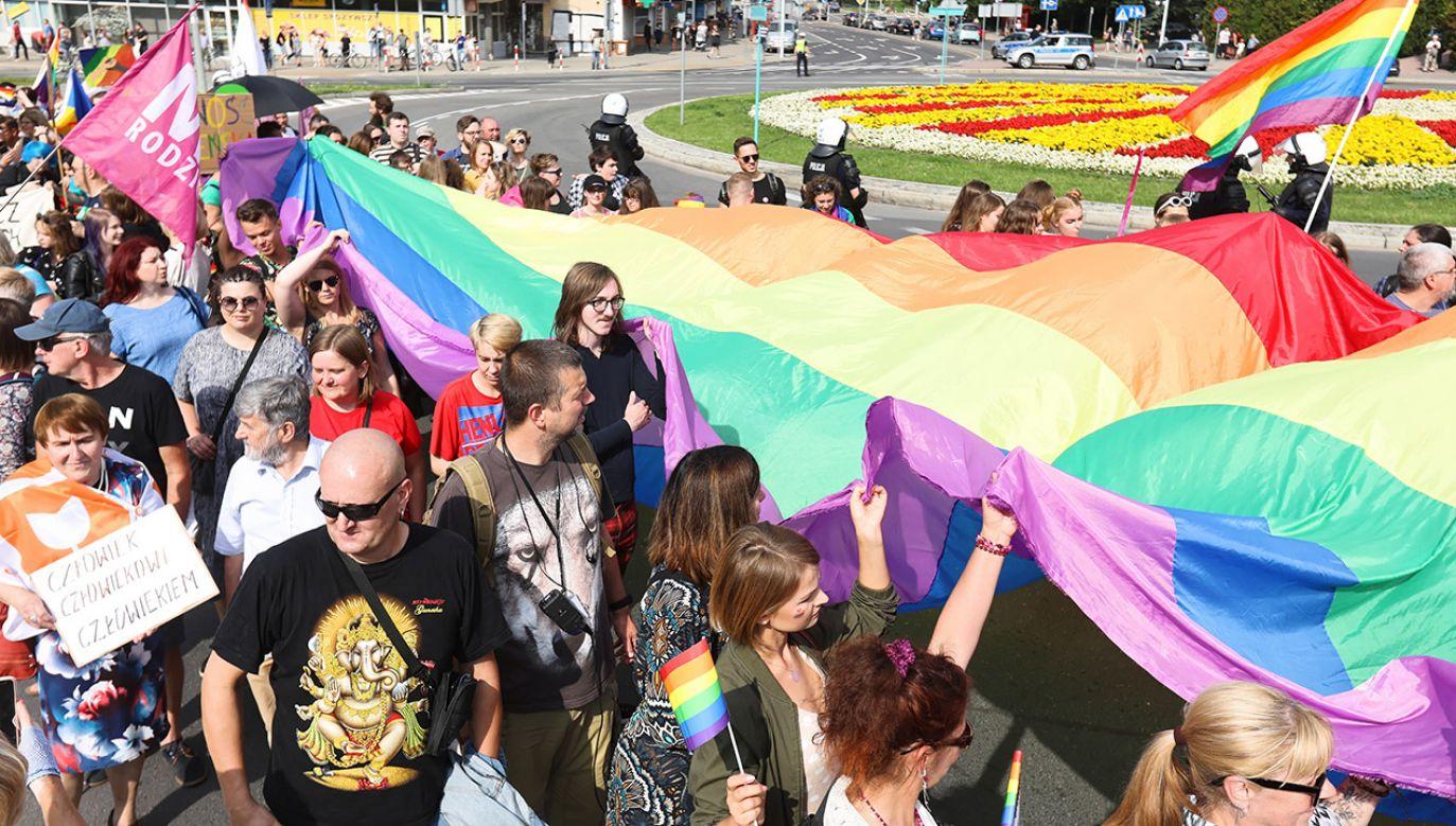 Parada Równości w Białymstoku (fot. PAP/Artur Reszko)