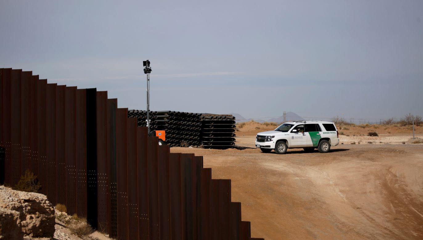 Straż Graniczna na granicy USA-Meksyk (fot. Reuters)