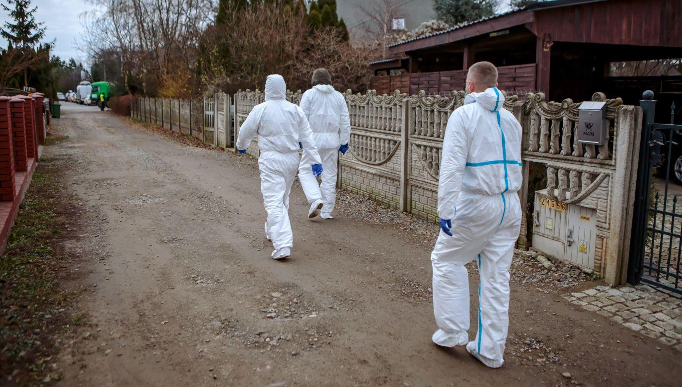 Szczegóły mordu w Ząbkowicach Śląskich (PAP/Maciej Kulczyński)
