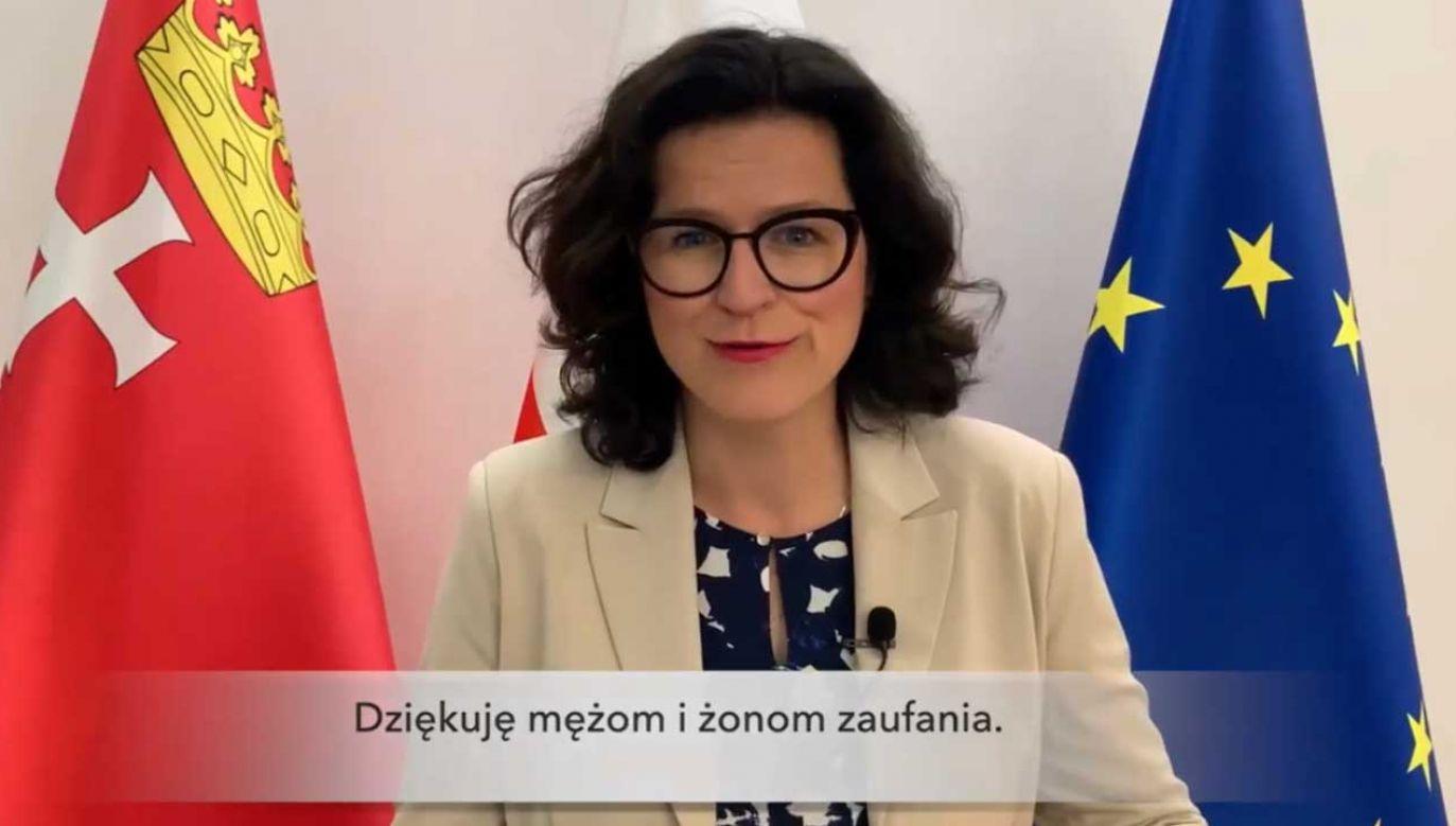 Aleksandra Dulkiewicz aktywnie włączyła się w kampanię prezydencką Rafała Trzaskowskiego (fot. Facebook/ Aleksandra Dulkiewicz)
