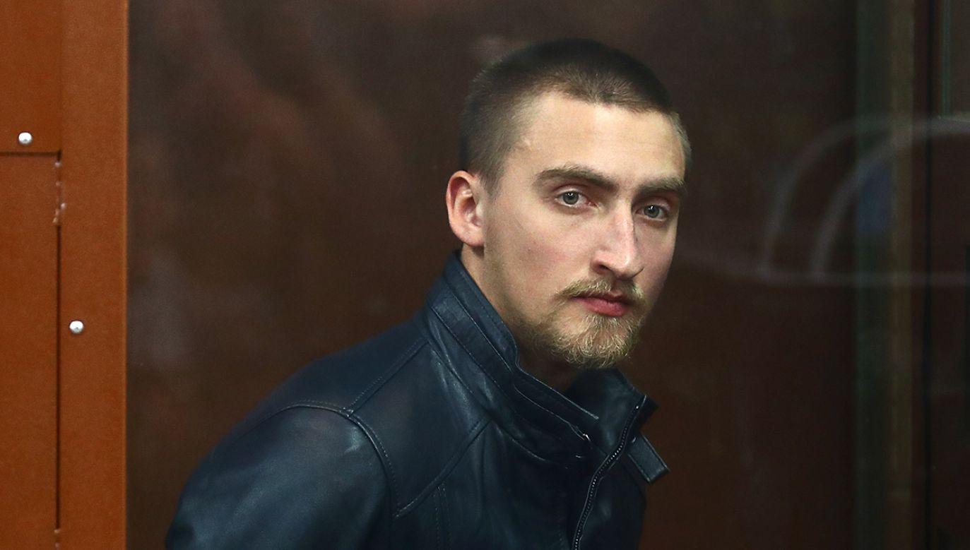 """""""To jest monstrualny wyrok dla młodego mężczyzny, który nic złego nie zrobił"""" (fot.  Sergei Fadeichev\TASS\Getty Images)"""