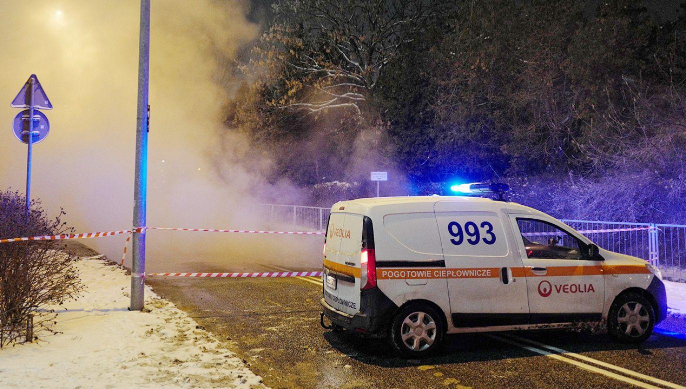 Informację o awariach przekazała Veolia w komunikatach (fot. PAP/Mateusz Marek; zdjęcie ilustracyjne)