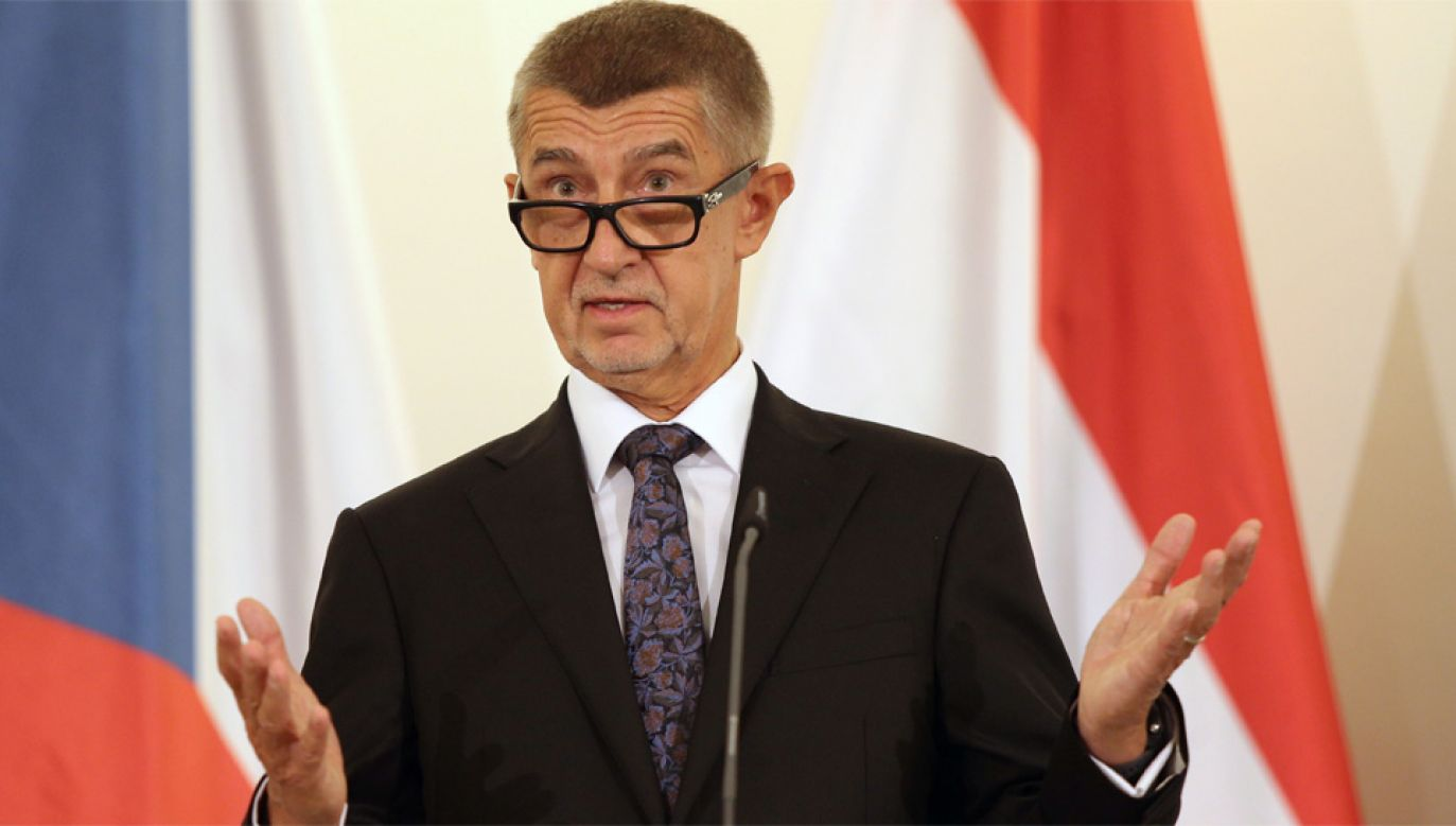 Andrej Babisz był podejrzewany o nieprawidłowości w zarządzaniu firmą Agrofert (fot. PAP/EPA/MILAN KAMMERMAYER)