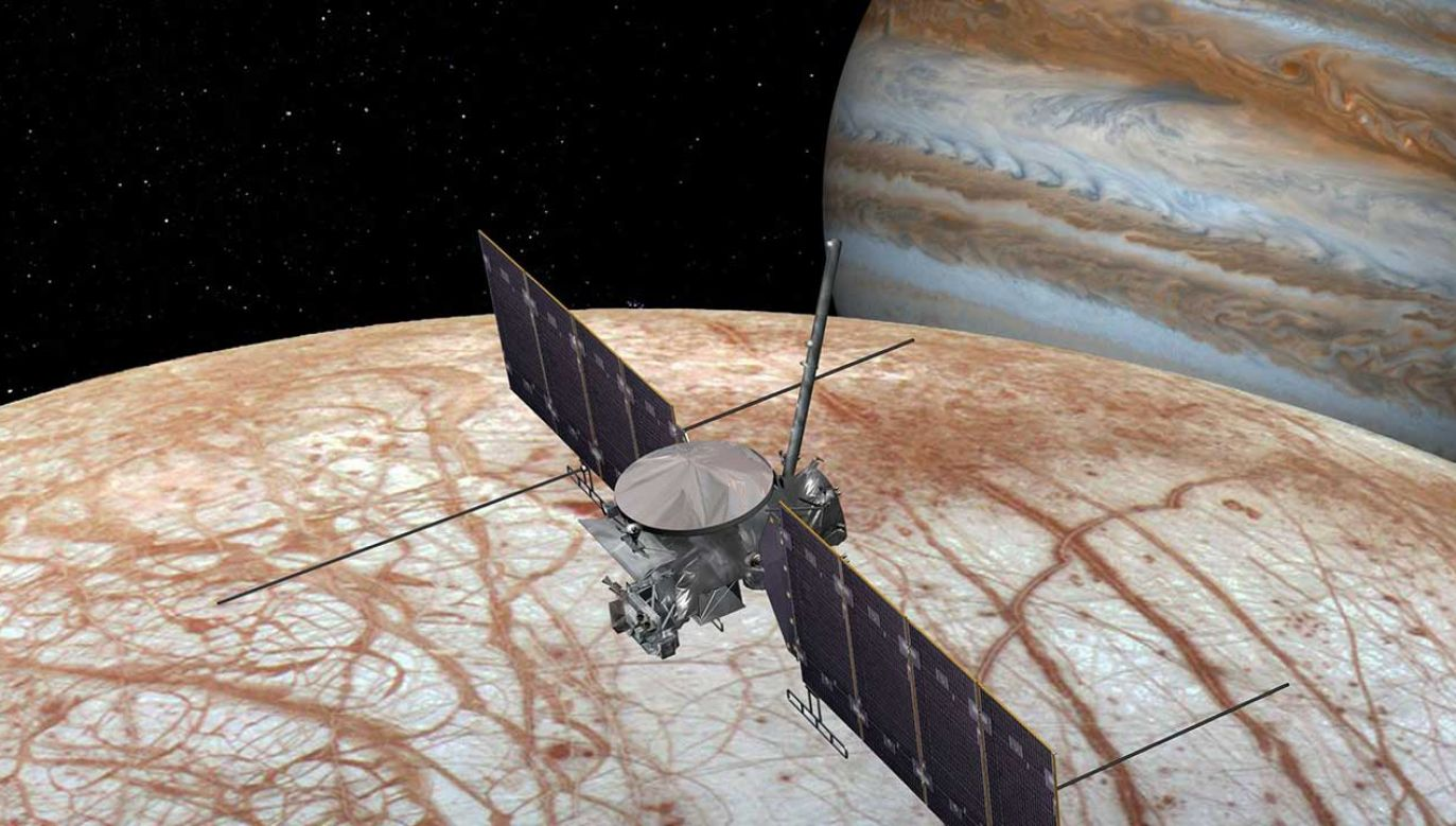 Według planów wystrzelenie sondy kosmicznej ma nastąpić pomiędzy 2023 a 2025 rokiem (fot. FB/NASA's Europa Clipper Mission)
