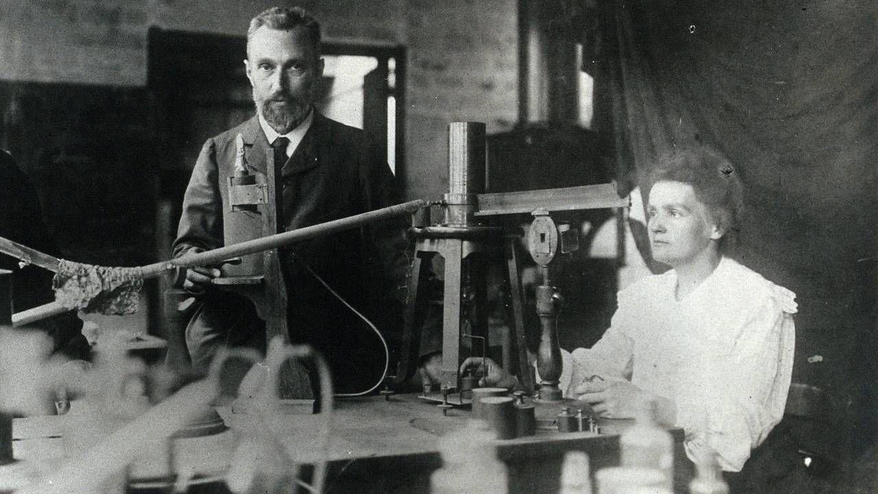 Maria Skłodowska-Curie spędziła znaczną część życia we Francji (fot. Wiki 4.0/Wellcome Collection gallery)
