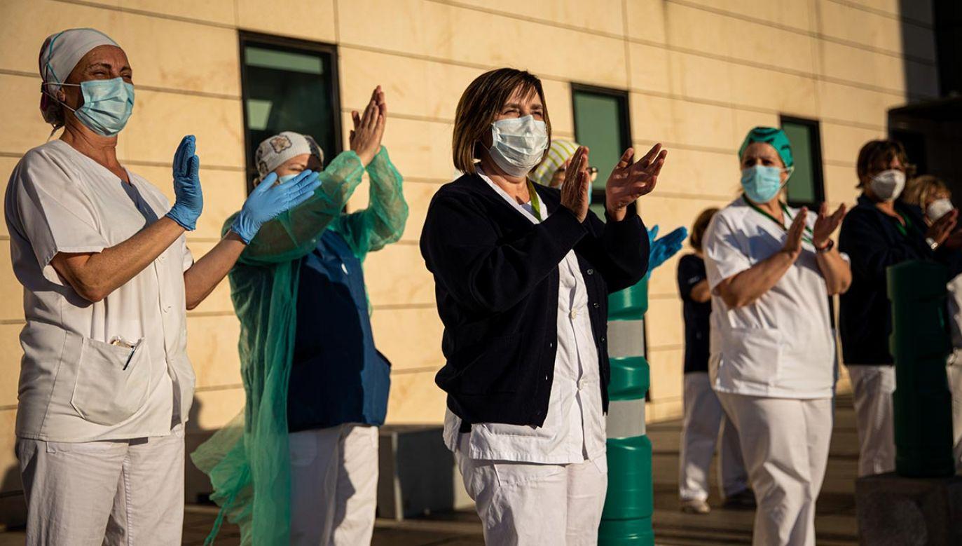 Epidemia jest w fazie ewidentnie spadającej (fot. Fermin Rodriguez/NurPhoto via Getty Images)