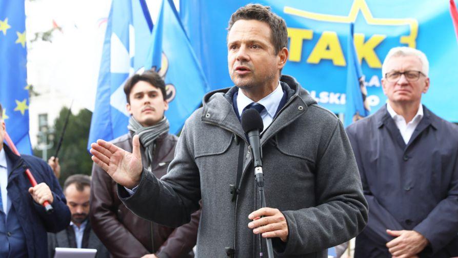 Rafał Trzaskowski nie chce w Warszawie Marszu Niepodległości (fot. PAP/Rafał Guz)