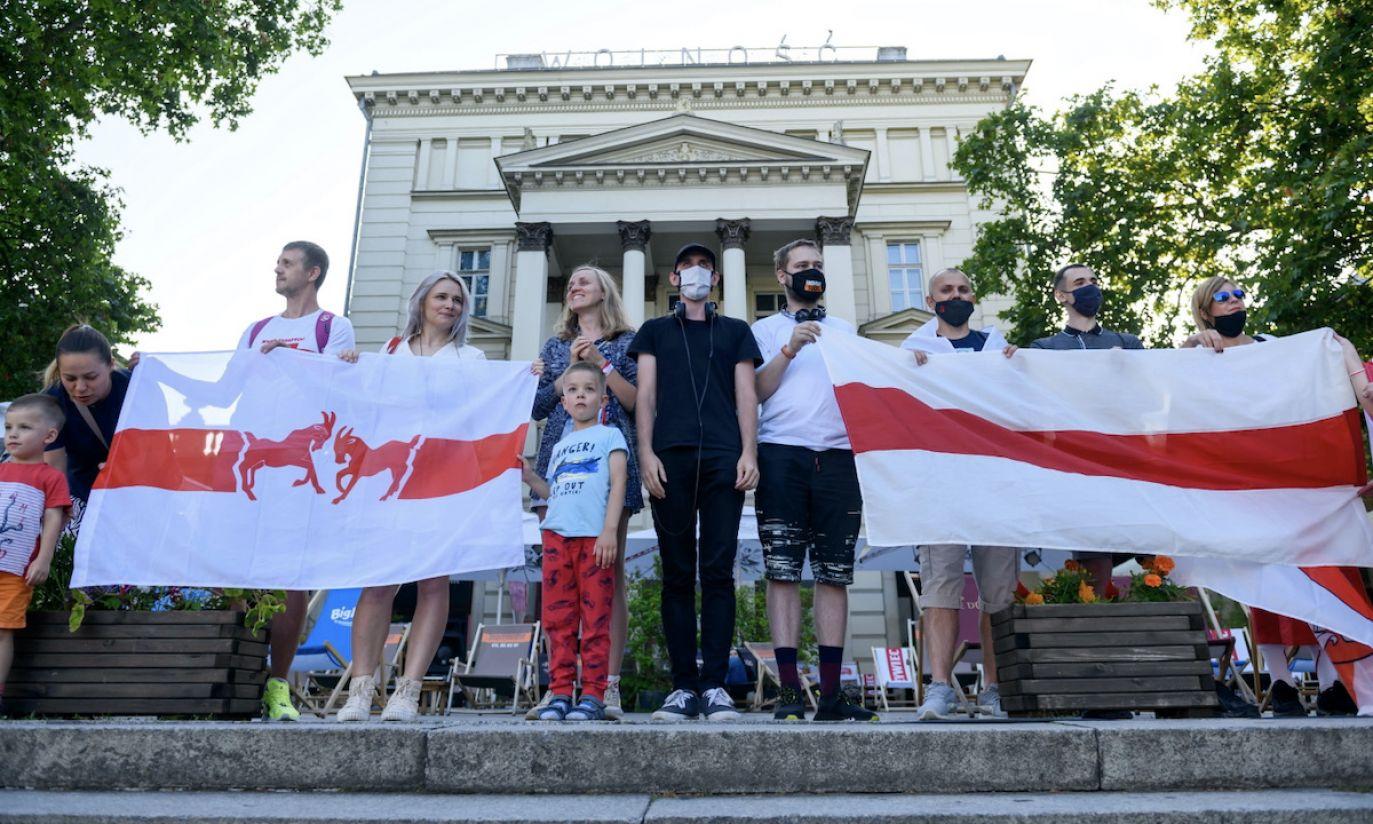 Występ białoruskiego Wolnego Chóru w Poznaniu
