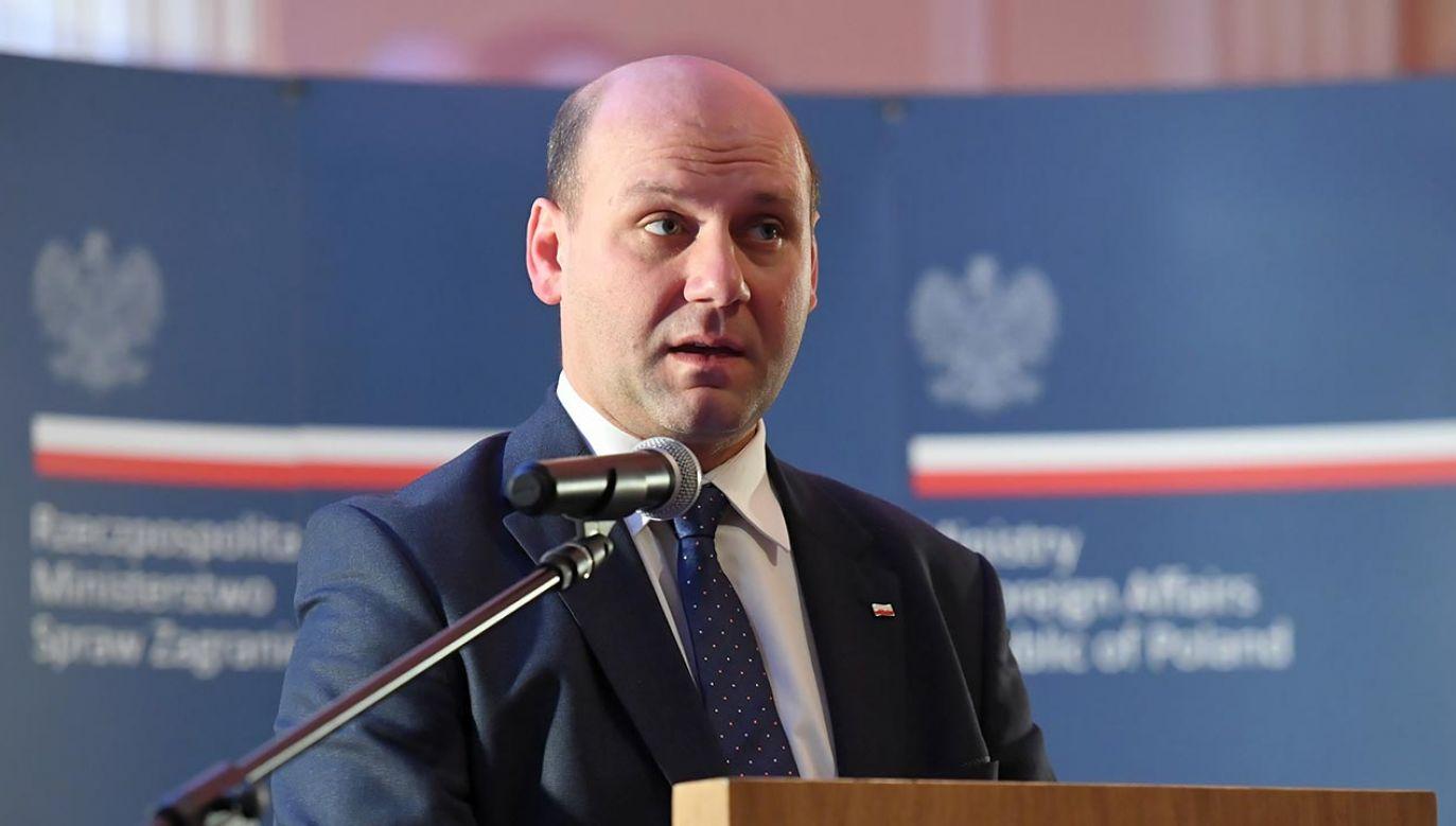 Rząd nie planuje wyjścia Polski z Unii Europejskiej (fot. PAP/Piotr Nowak)