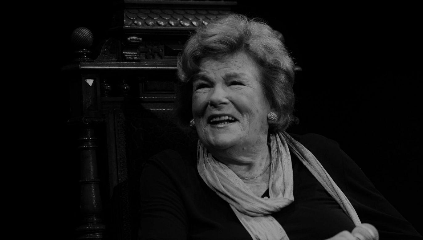 Artystka zmarła nagle w wieku 96lat (fot. PAP/Andrzej Grygiel)