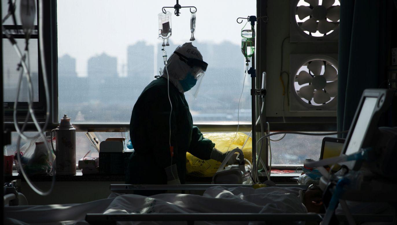 W szpitalu w Padwie przebywają dwie osoby, których stan jest ciężki (fot. China Daily via REUTERS)