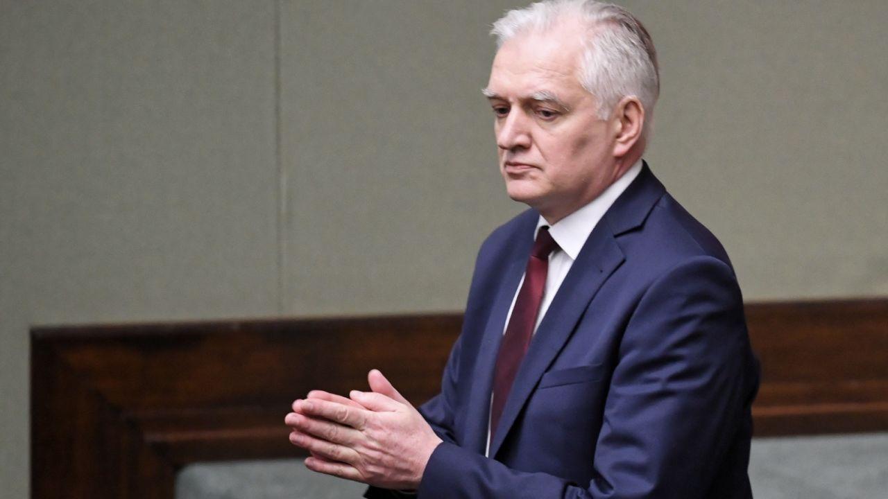 Jarosław Gowin przeciw głosowaniu korespondencyjnemu i wyborom 10 maja. Dalsze negocjacje w przyszłym tygodniu (fot. PAP/Radek Pietruszka)