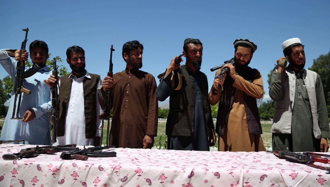Talibowie kontrolują większą część Afganistanu (fot. arch.PAP/EPA/GHULAMULLAH HABIBI)