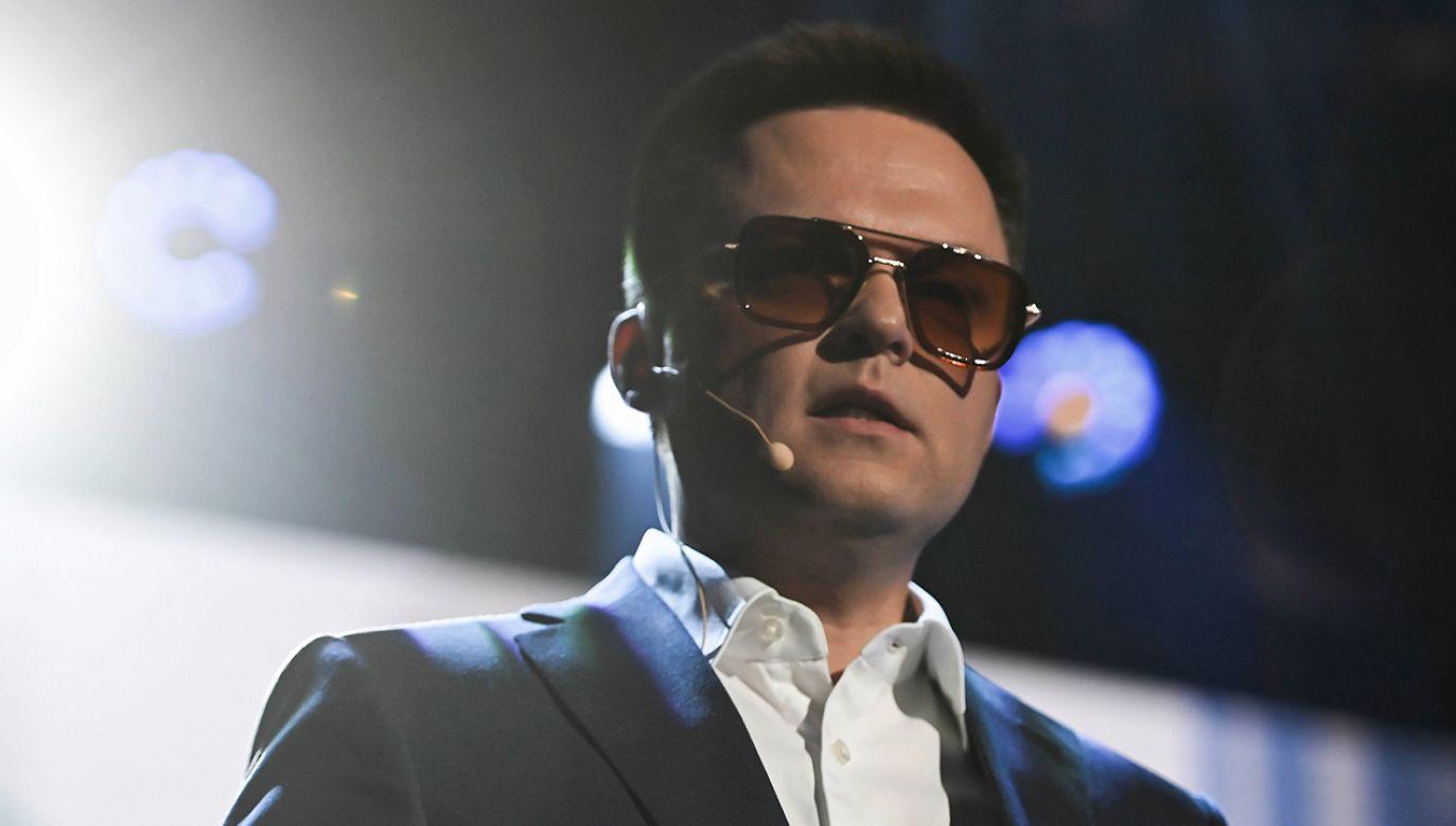 Już w niedzielę były showman Szymon Hołownia może ogłosić decyzję o starcie w wyborach prezydenckich. (fot. arch. PAP/Jan Dzban)