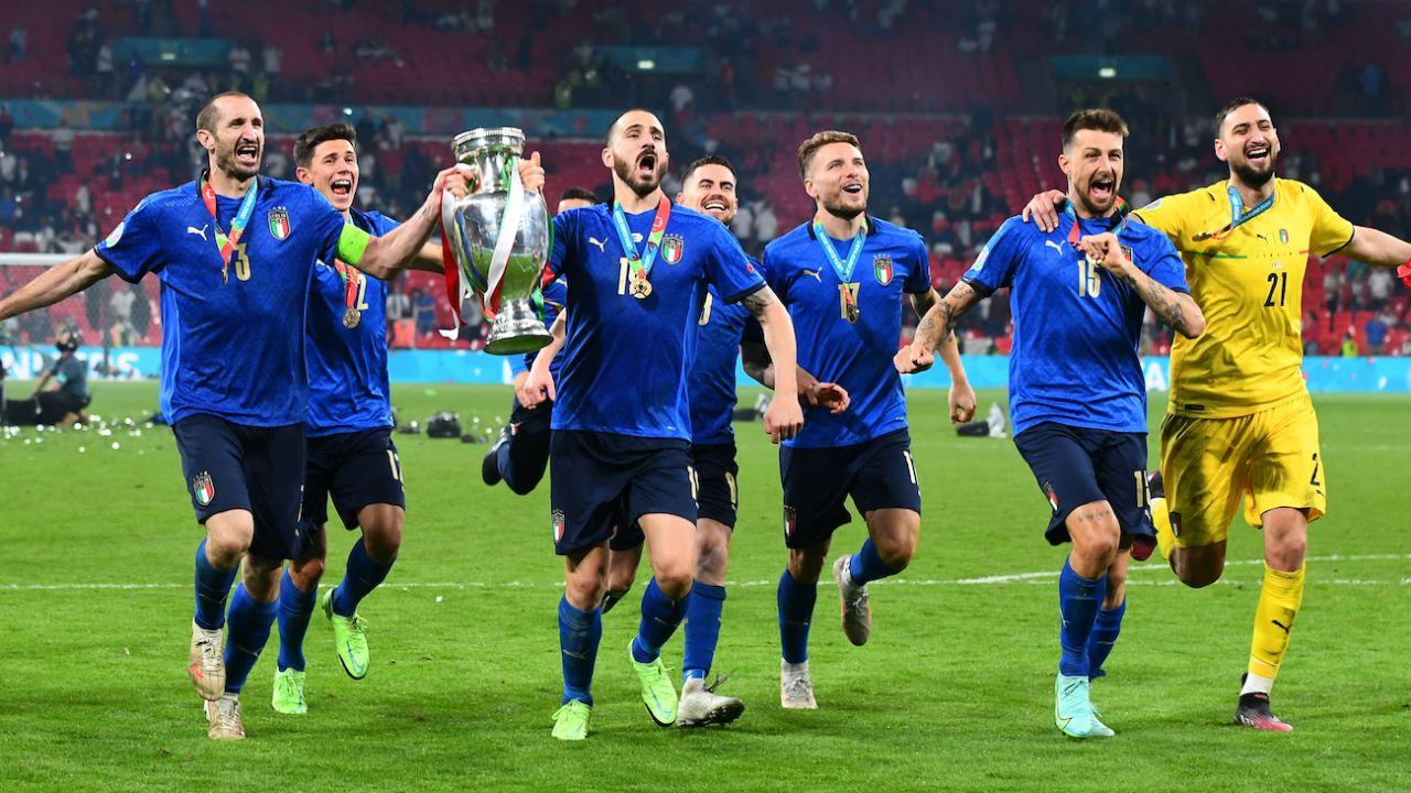 Aż czterech Włochów wśród najlepszych naszym zdaniem piłkarzy Euro (fot. Getty Images)