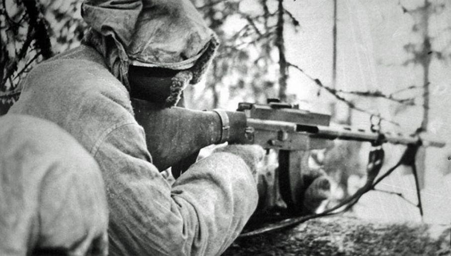 Finowie nie ulegli przeważającym siłom Armii Czerwonej (fot. Wiki)