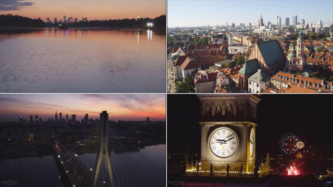 Warszawa prezentuje się wybornie (fot. YouTube.com/Jacek Drofiak)