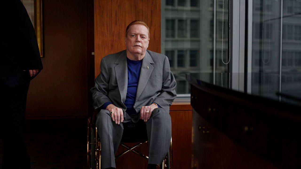 Larry Flynt zmarł na skutek zatrzymania krążenia (fot. Getty Images)