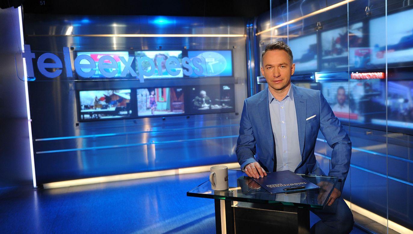 "25 marca ""Teleexpress"" obejrzało 2,9 mln widzów (fot. TVP/PAP/Natasza Młudzik)"