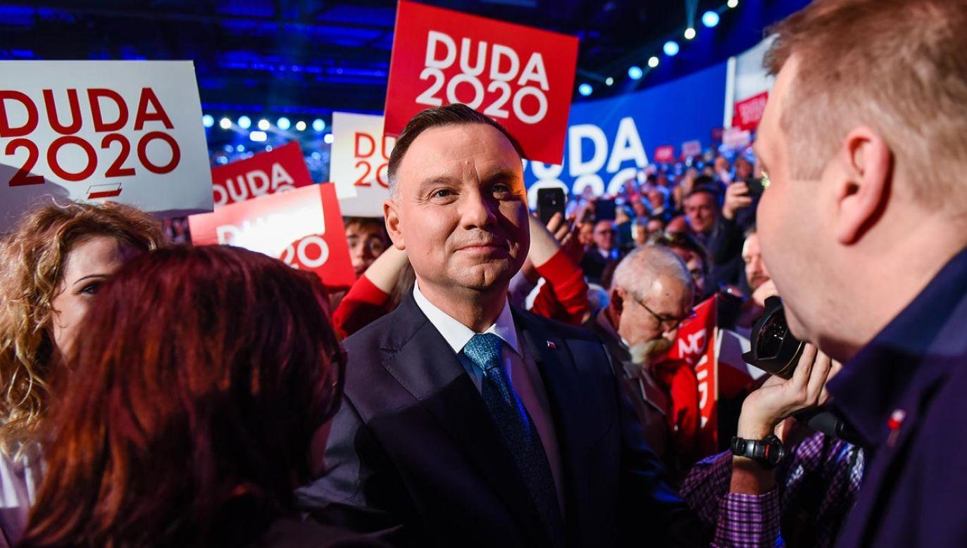W czwartek komitet Andrzeja Dudy ma zawiadomić PKW o uczestnictwie w wyborach (fot.  Omar Marques/Getty Images)