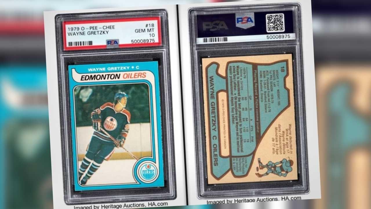 Po raz pierwszy kartę hokeisty sprzedano za ponad milion dolarów (fot. Heritage Auctions/mat.pras.)