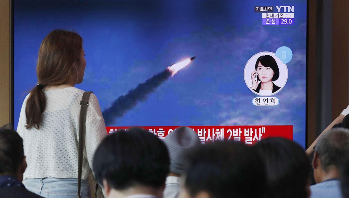 Według straży pożarnej w chwili eksplozji naukowcy zajmowali się paliwem rakietowym (fot. PAP/EPA/JEON HEON-KYUN)