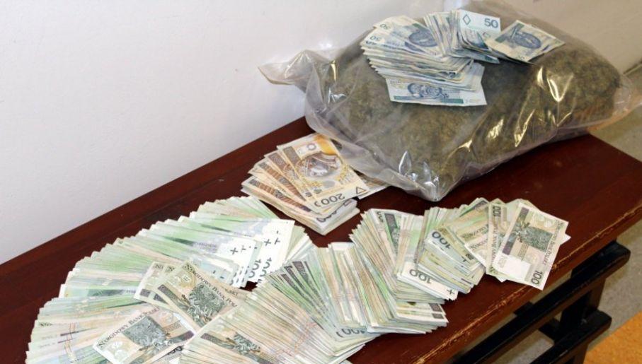 Uderzenie w handlarzy narkotyków (tot. policja.waw.pl)