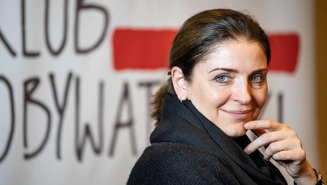 Była minister sportu w rządzie PO-PSL Joanna Mucha wystartuje w wyborach na szefa PO. (fot. arch. PAP/Wojciech Pacewicz)