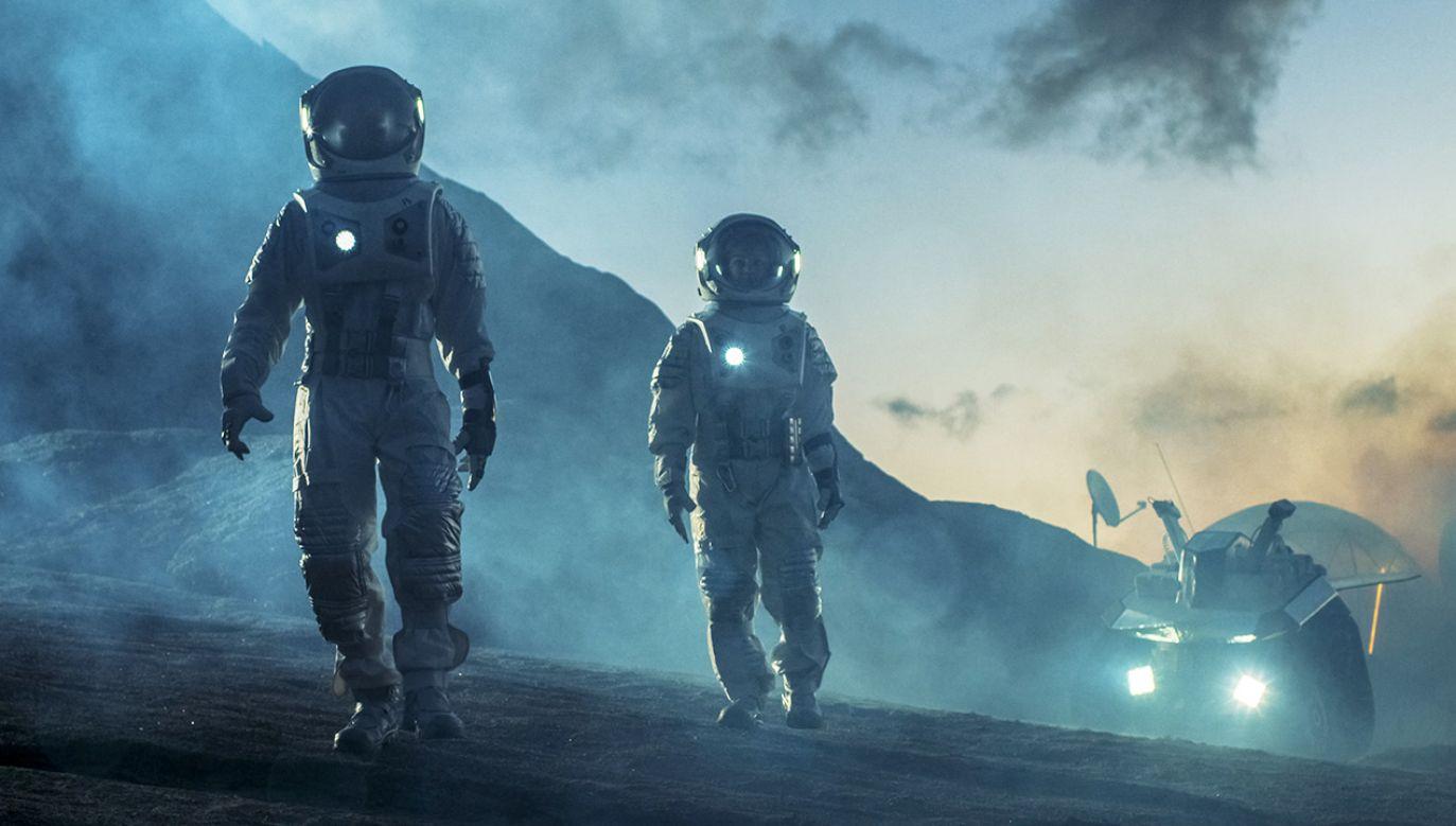 NASA, ESA i chińska agencja kosmiczna przygotowują się do budowy w nadchodzących dekadach baz na Srebrnym Globie (fot. Shutterstock/Gorodenkoff)