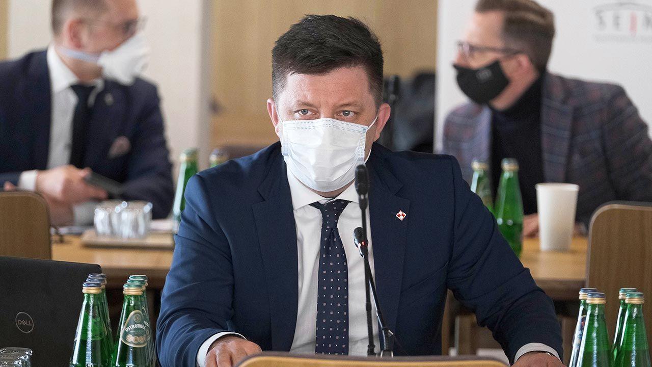 Michał Dworczyk zakażony koronawirusem (fot. PAP/Mateusz Marek)