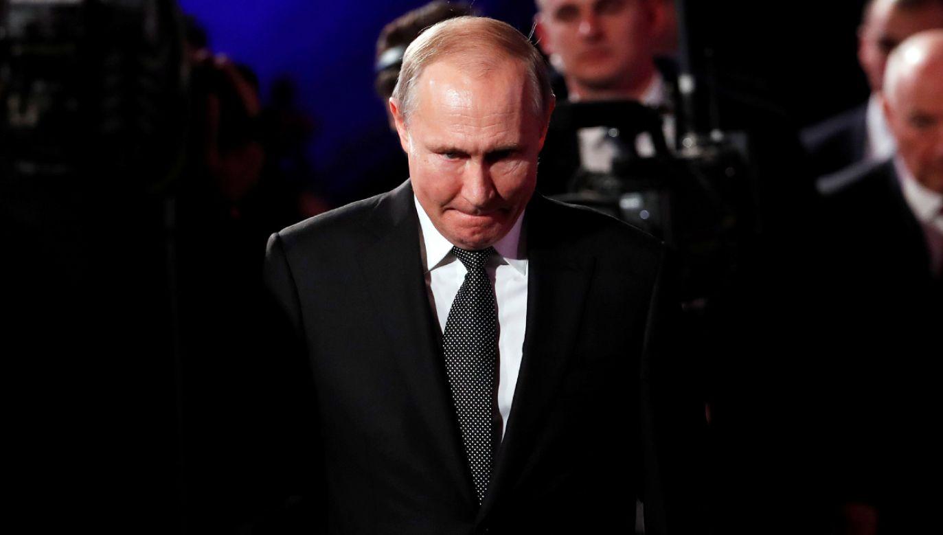 Władimir Putin na 5. Światowym Forum Holokaustu w Jerozolimie  (fot. ReutersRonen Zvulun)