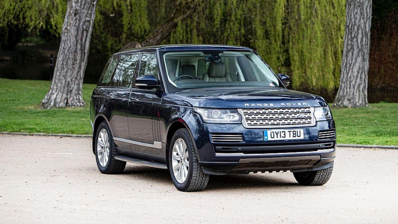 Range rover, który od 2013 roku należał do księżnej Kate i księcia Williama, zostanie wystawiony na licytację (fot. Bonhams)