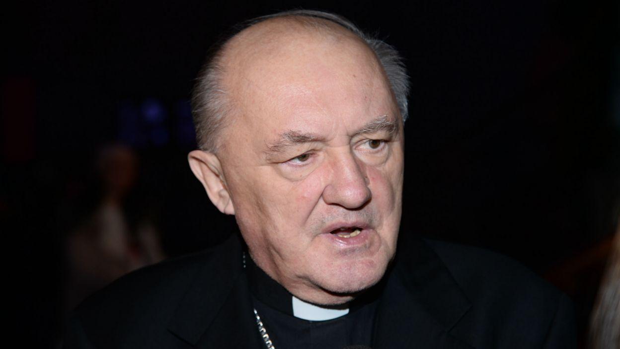 Polska premierę zaszczycił swoją obecnością kardynał Kazimierz Nycz, metropolita warszawski (fot. Jan Bogacz)