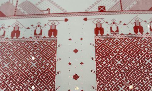 Kolory są dwa: biały i czerwony. Fot. Jacek Wiśniewski/Galeria Browarna
