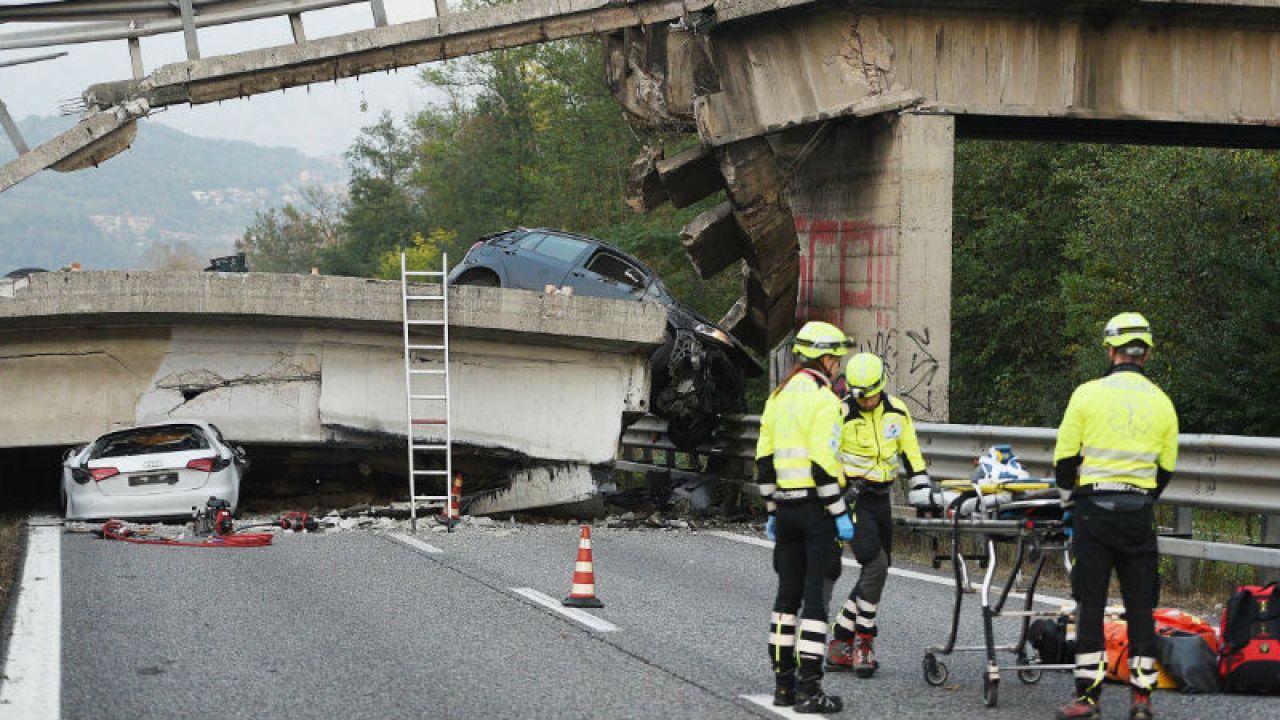 Do wypadku doszło na drodze Mediolan-Lecco  (fot. PAP/EPA/FABRIZIO CUSA)