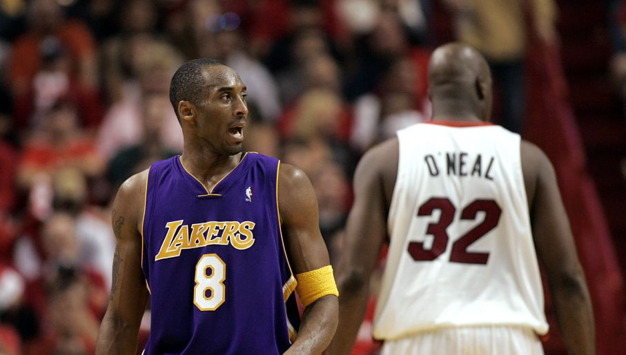 Kobe Bryant i Shaquille O'Neal stanowili jeden z najbardziej dominujących duetów w NBA. Do czasu... (fot. Getty)