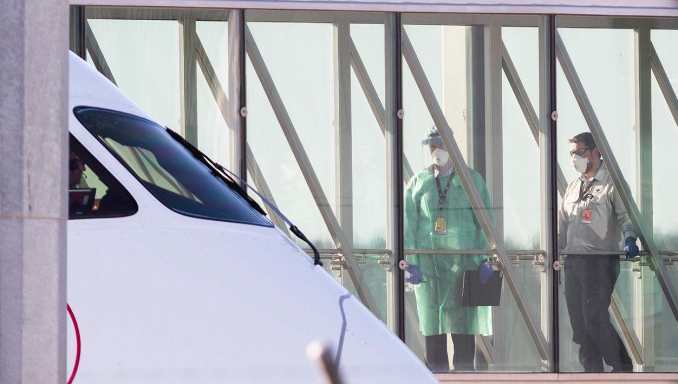 Na pokładzie nie było pasażerów (fot.  Rohan Thomson/Getty Images)