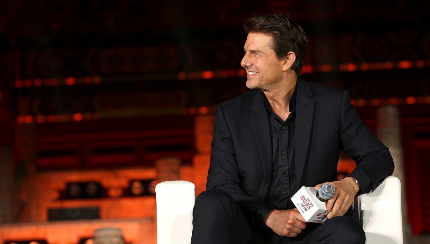 Tom Cruise grał we wszystkich częściach filmu (fot. Emmanuel Wong/Getty Images for Paramount Pictures)