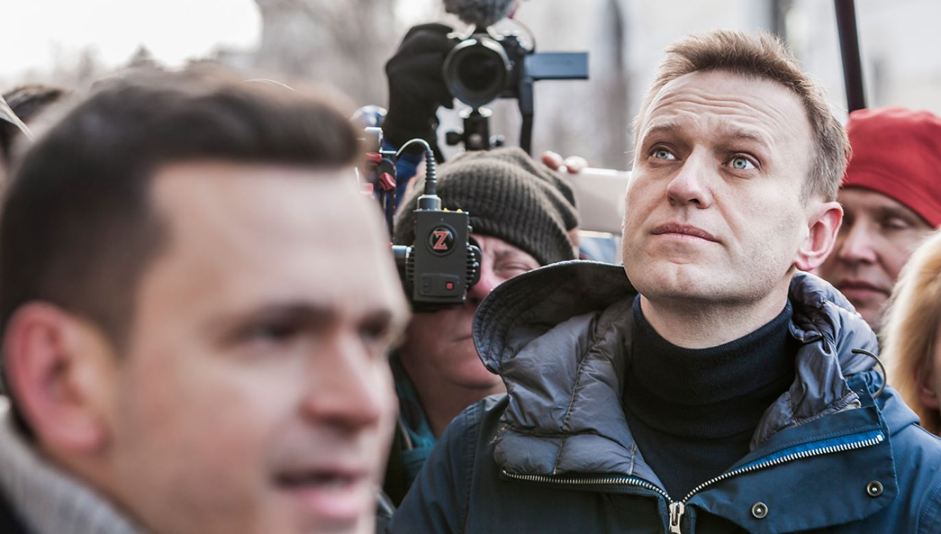 Na konto fundacji Nawalnego wpłynęły drobne kwoty od prywatnych osób z USA i Hiszpanii  (fot. Celestino Arce/NurPhoto via Getty Images)
