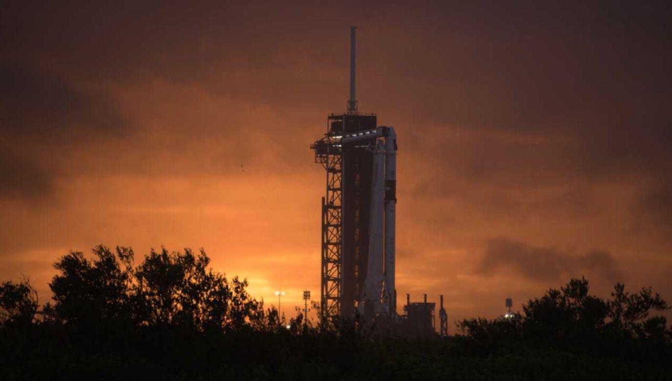 W środę, na niespełna 17 minut przed odpaleniem silników, przerwano start Crew Dragona   (fot. PAP/EPA/NASA/Bill Ingalls HANDOUT)