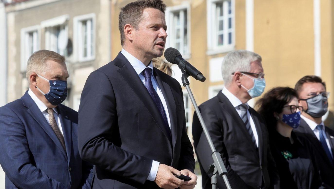 Konferencja Unii Metropolii Polskich w piątek odbyła się w Białymstoku (fot. PAP/Artur Reszko)