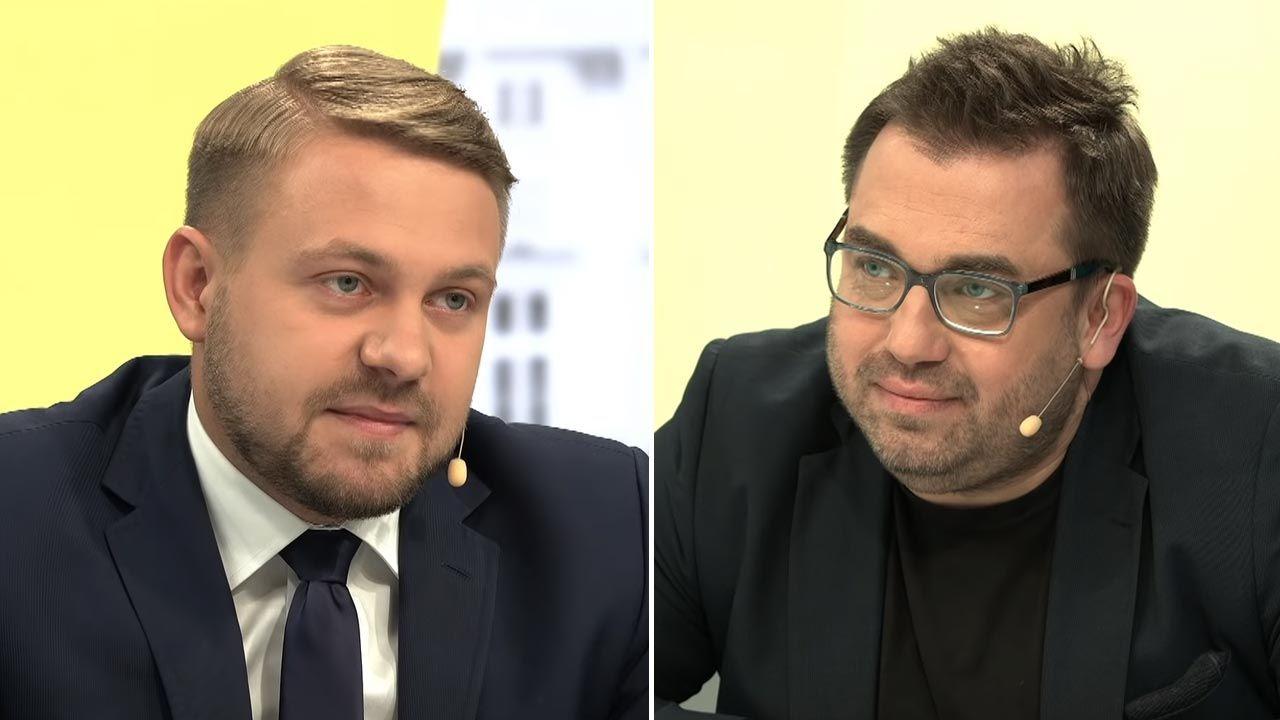 Ozdoba zapewnia, że wywiad przeprowadzał Węglarczyk (fot. YouTube/Onet News)